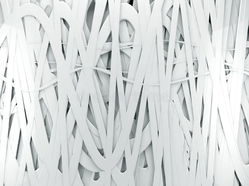 άσπρο τρισδιάστατο αφηρημένο υπόβαθρο διανυσματική απεικόνιση