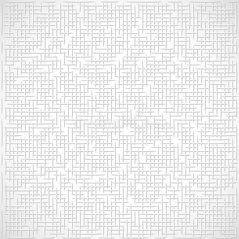 Άσπρη έννοια σύστασης υποβάθρου διανυσματική απεικόνιση