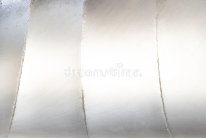 Άσπρη ανασκόπηση μετάλλων στοκ φωτογραφία με δικαίωμα ελεύθερης χρήσης