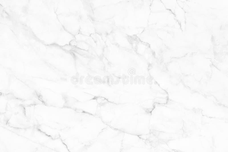 Άσπρη (γκρίζα) μαρμάρινη σύσταση, λεπτομερής δομή του μαρμάρου σε φυσικό που διαμορφώνεται για το υπόβαθρο και σχέδιο στοκ φωτογραφίες