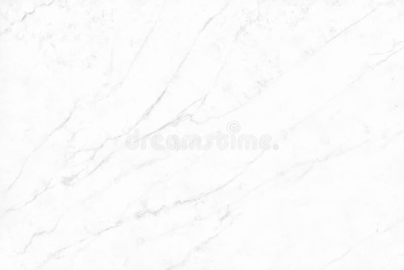 Άσπρη γκρίζα μαρμάρινη σύσταση στο φυσικό σχέδιο με τη υψηλή ανάλυση Πάτωμα πετρών κεραμιδιών στοκ φωτογραφίες