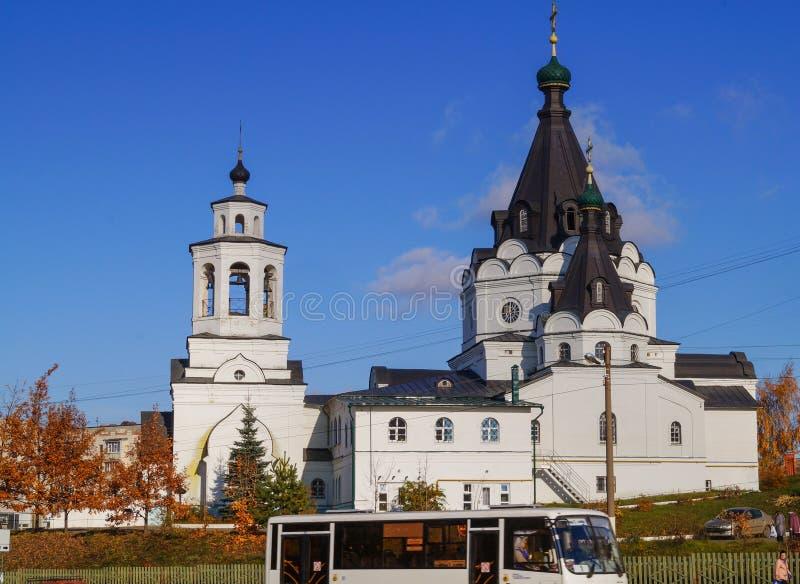 Άσπρη εκκλησία του πατριάρχη Tikhon, Kostroma, Ρωσία στοκ εικόνα με δικαίωμα ελεύθερης χρήσης