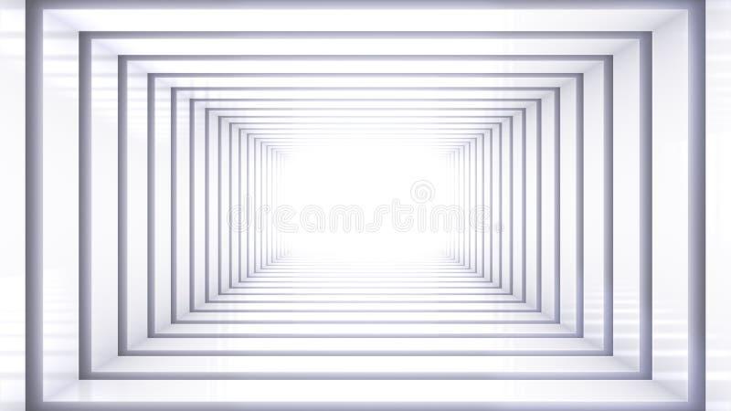 Άσπρη διαστημική σκηνή στοκ εικόνες