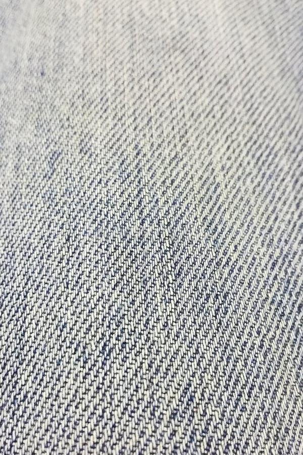 Άσπρη και μπλε σύσταση τζιν στην προοπτική στοκ φωτογραφία με δικαίωμα ελεύθερης χρήσης