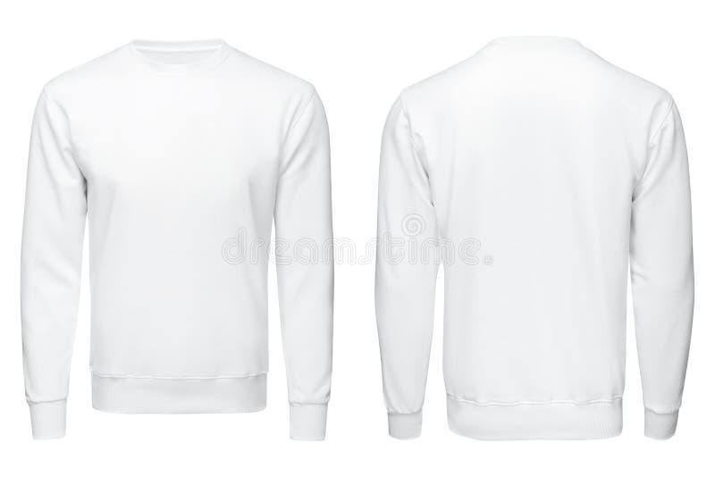 Άσπρη μπλούζα, ενδύματα απομονωμένος στοκ φωτογραφία με δικαίωμα ελεύθερης χρήσης