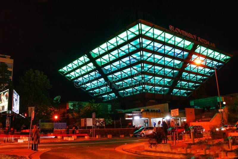 Άσπρη νύχτα φεστιβάλ στοκ φωτογραφίες με δικαίωμα ελεύθερης χρήσης