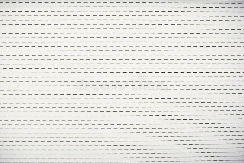 Άσπρη πύλη ή πόρτα κυλίνδρων φύλλων μετάλλων χρώματος υλική ελεύθερη απεικόνιση δικαιώματος