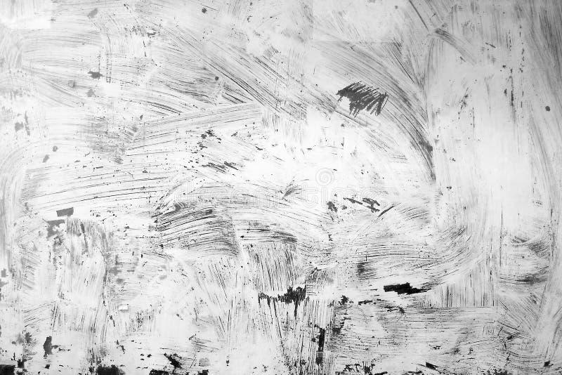 Άσπρη σύσταση ζωγραφικής grunge στοκ φωτογραφία με δικαίωμα ελεύθερης χρήσης