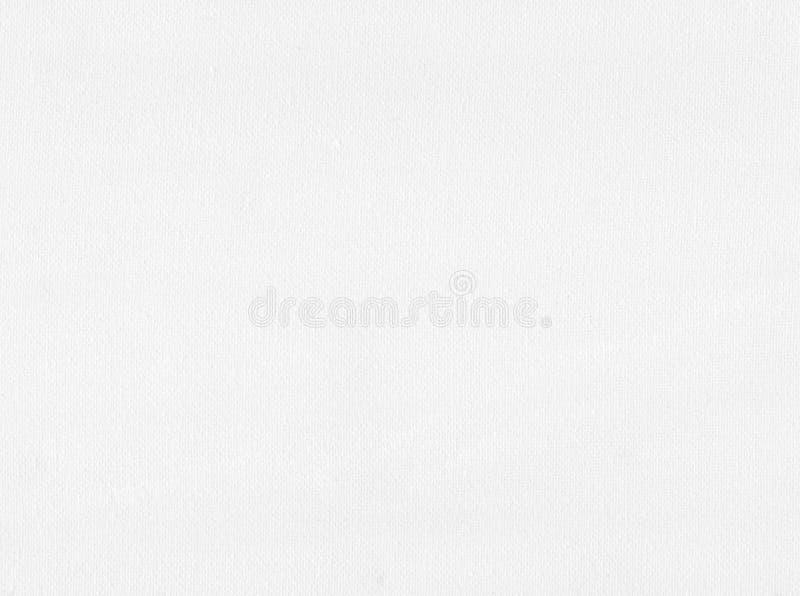 Άσπρη σύσταση καμβά στοκ εικόνα με δικαίωμα ελεύθερης χρήσης