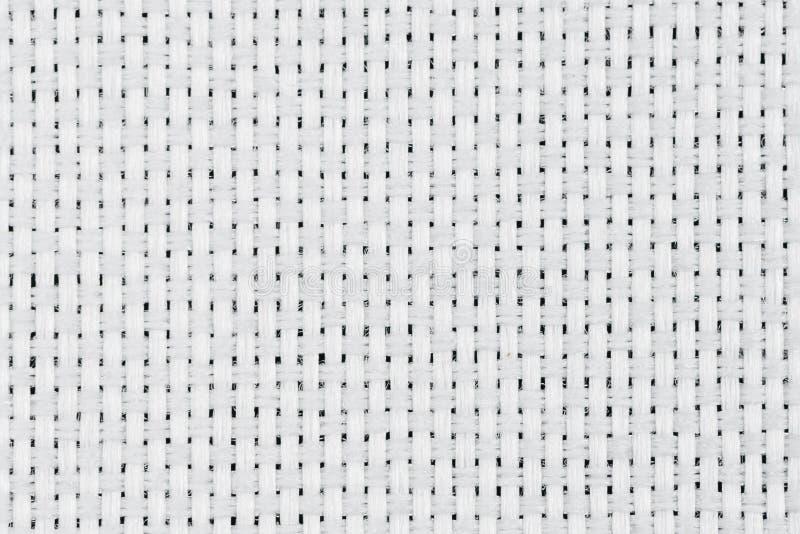 Άσπρη σύσταση υφάσματος στοκ φωτογραφία με δικαίωμα ελεύθερης χρήσης