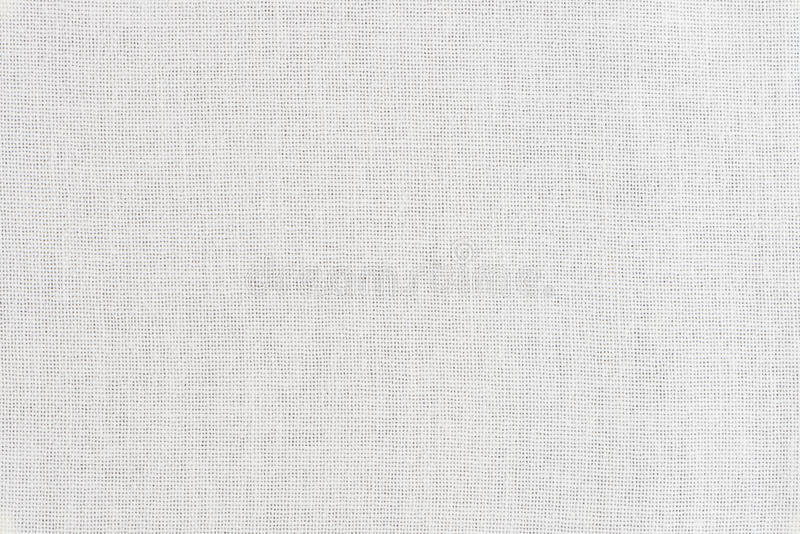 Άσπρη σύσταση υφάσματος στοκ εικόνα