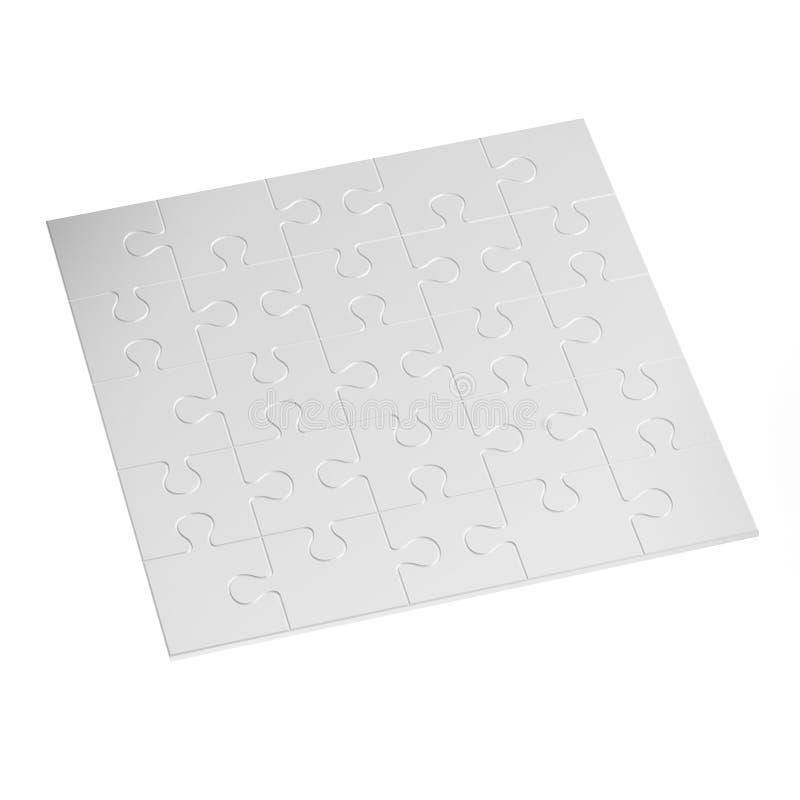 Άσπρος γρίφος διανυσματική απεικόνιση