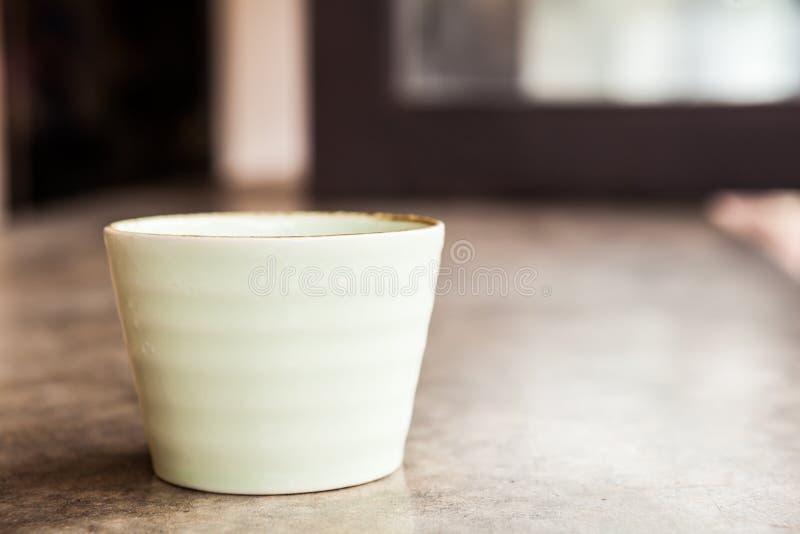 Άσπρος κεραμικός στοκ φωτογραφία με δικαίωμα ελεύθερης χρήσης