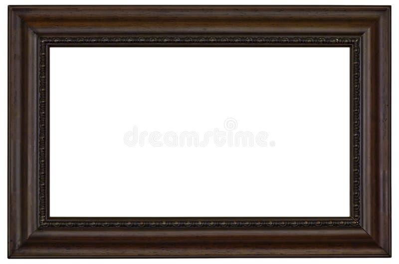 άσπρος ξύλινος εικόνων πλαισίων στοκ φωτογραφίες με δικαίωμα ελεύθερης χρήσης