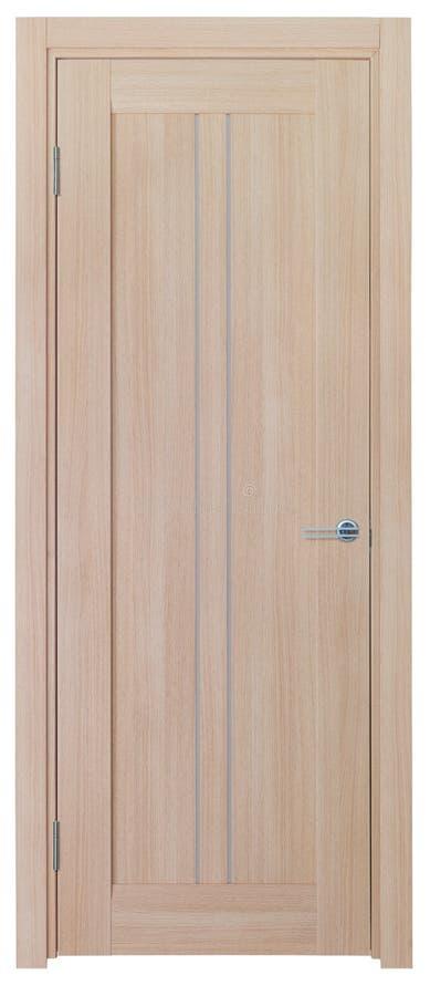άσπρος ξύλινος πορτών ανασ στοκ φωτογραφίες