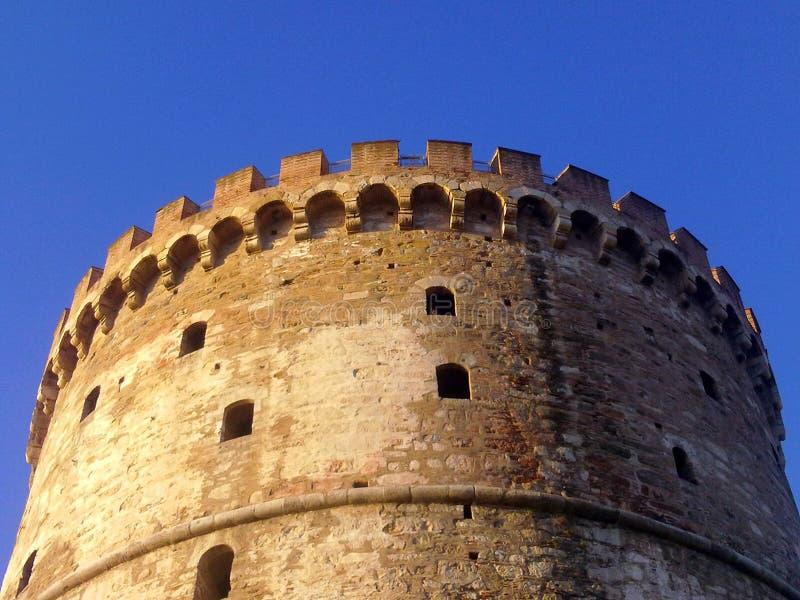 Άσπρος πύργος στοκ φωτογραφίες