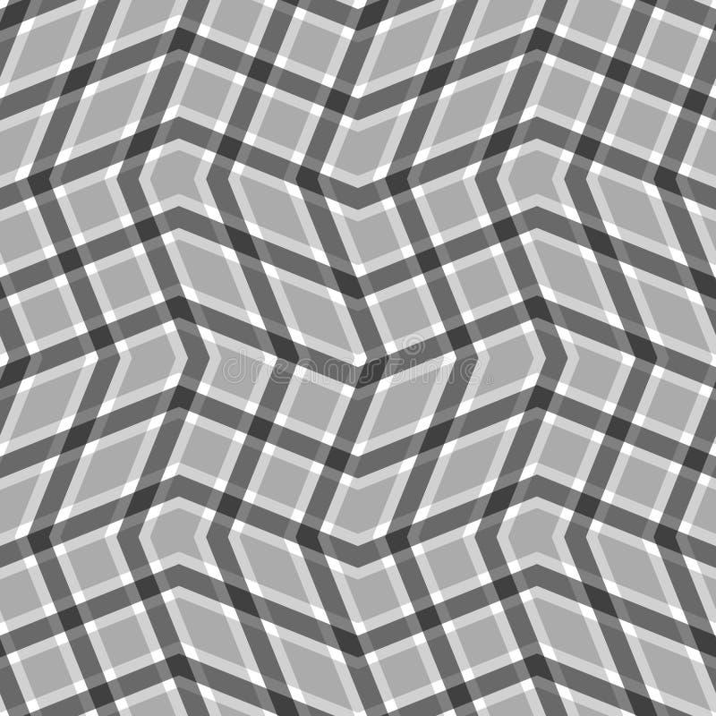 Άσπρος ριγωτός γεωμετρικός αναδρομικός γραμμών υποβάθρου ελεύθερη απεικόνιση δικαιώματος
