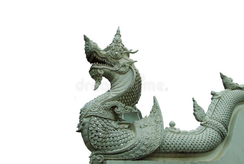Άσπρος στόκος Naga στοκ εικόνα