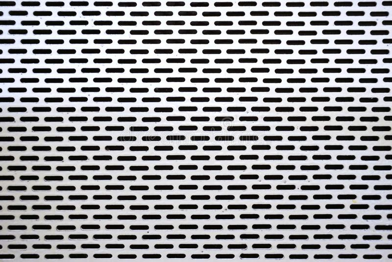 Άσπρος τοίχος χάλυβα στοκ φωτογραφία