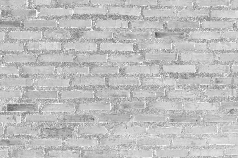 Άσπρος τουβλότοιχος για το σχέδιο και το υπόβαθρο στοκ εικόνα