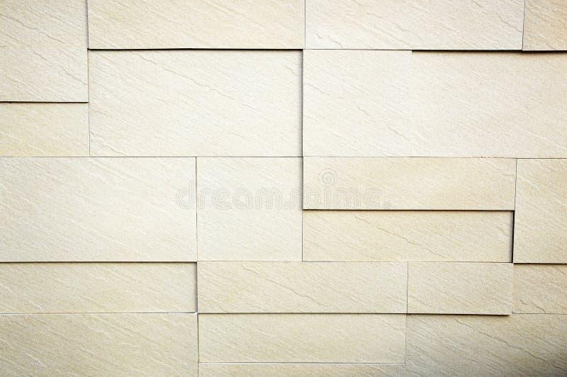 Άσπρος τουβλότοιχος πετρών στοκ φωτογραφία