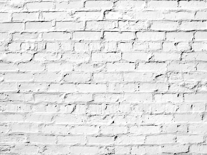 Άσπρος τουβλότοιχος τέλειος ως υπόβαθρο στοκ εικόνες