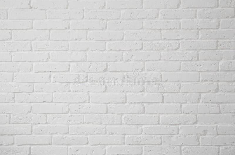 Άσπρος τουβλότοιχος στοκ φωτογραφίες με δικαίωμα ελεύθερης χρήσης