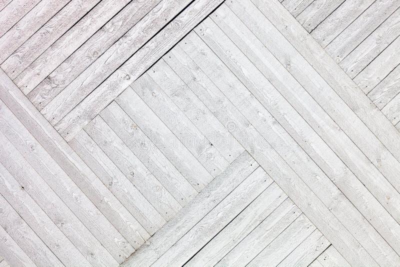Άσπρο αγροτικό ξύλινο υπόβαθρο σανίδων στοκ εικόνες με δικαίωμα ελεύθερης χρήσης