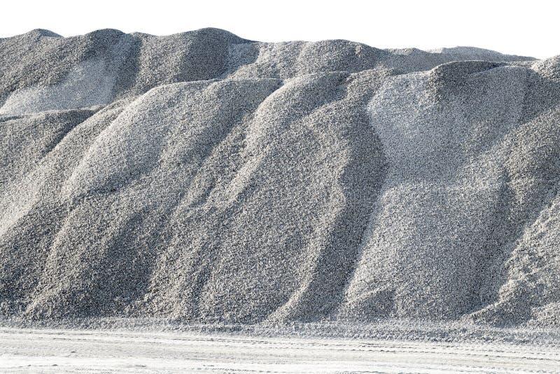 Άσπρο αμμοχάλικο βουνών στοκ φωτογραφίες με δικαίωμα ελεύθερης χρήσης