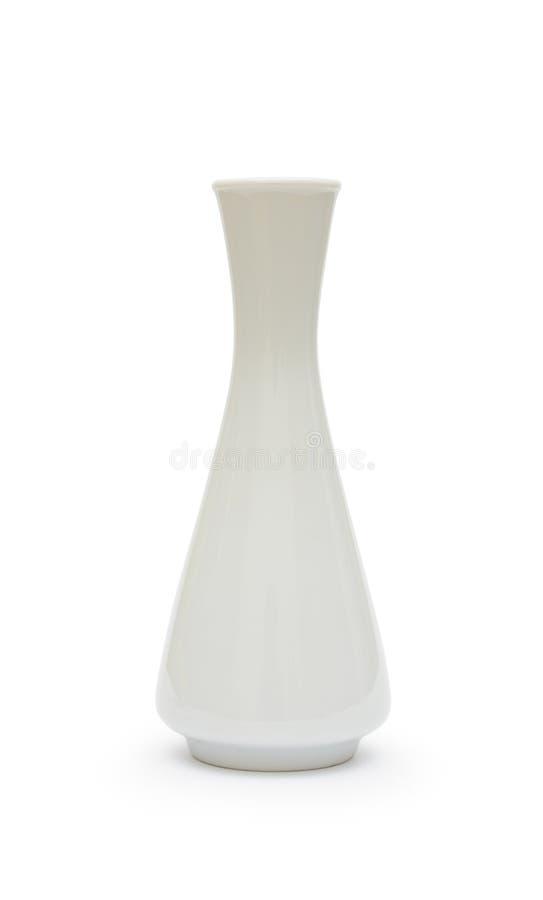 Άσπρο βάζο στοκ φωτογραφία με δικαίωμα ελεύθερης χρήσης
