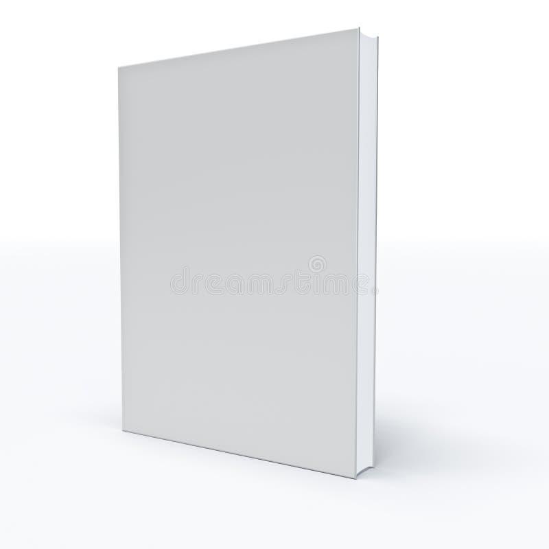 Άσπρο βιβλίο διανυσματική απεικόνιση