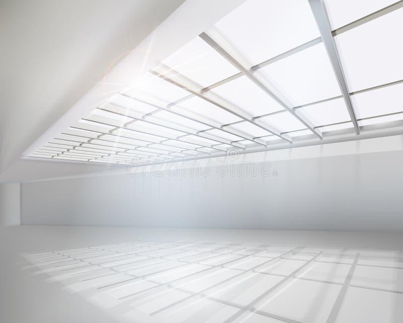 Άσπρο διαμέρισμα απεικόνιση αποθεμάτων