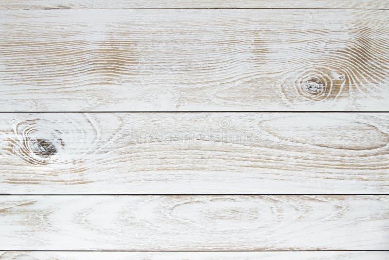Άσπρο εκλεκτής ποιότητας ξύλινο υπόβαθρο σύστασης στοκ εικόνα