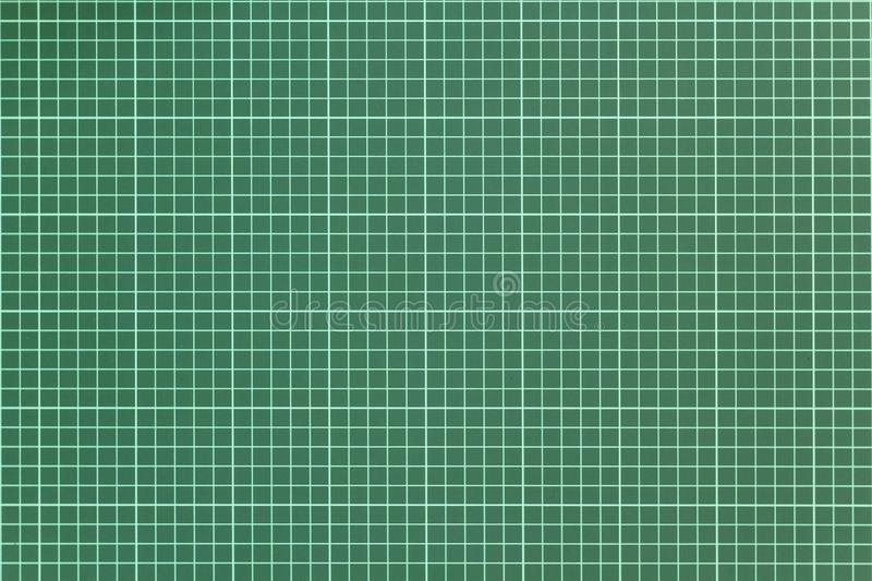 Άσπρο ελεγμένο σχέδιο σε ένα πράσινο υπόβαθρο του τέμνοντος χαλιού r στοκ φωτογραφίες με δικαίωμα ελεύθερης χρήσης