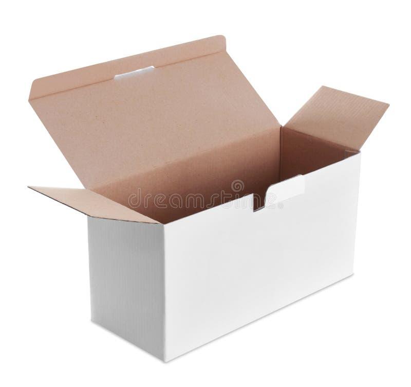 Άσπρο κιβώτιο στοκ εικόνες με δικαίωμα ελεύθερης χρήσης