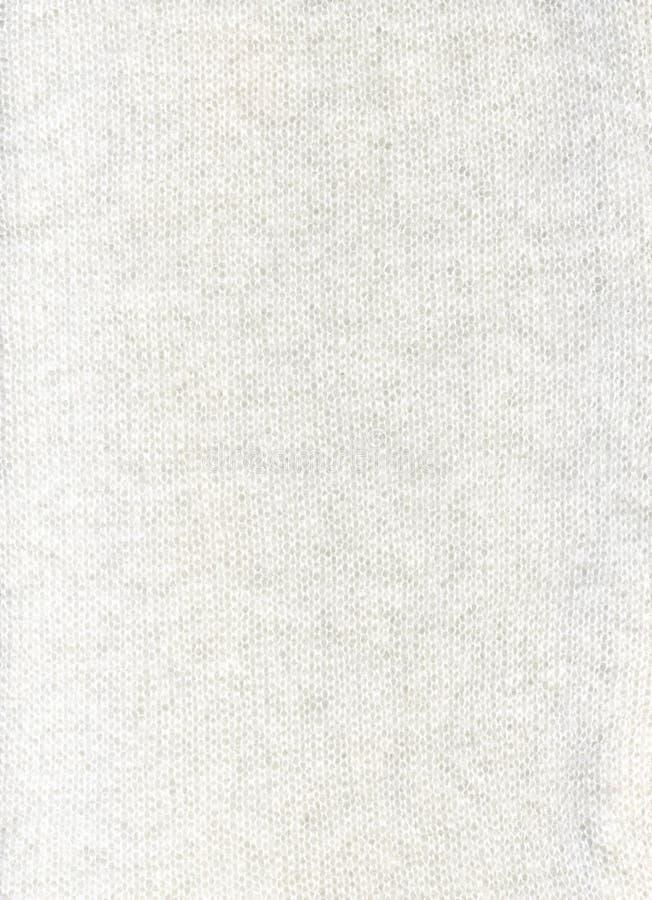 άσπρο μαλλί σύστασης υφάσμ στοκ φωτογραφία με δικαίωμα ελεύθερης χρήσης