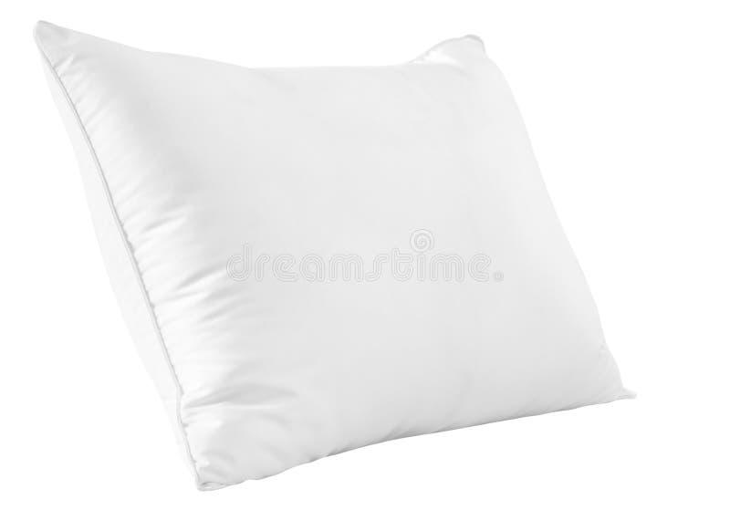 Άσπρο μαξιλάρι. στοκ φωτογραφίες