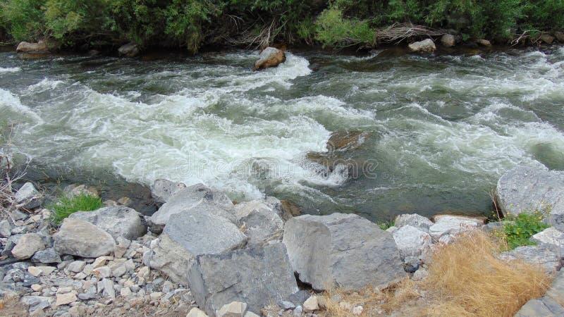 Άσπρο νερό στοκ φωτογραφίες