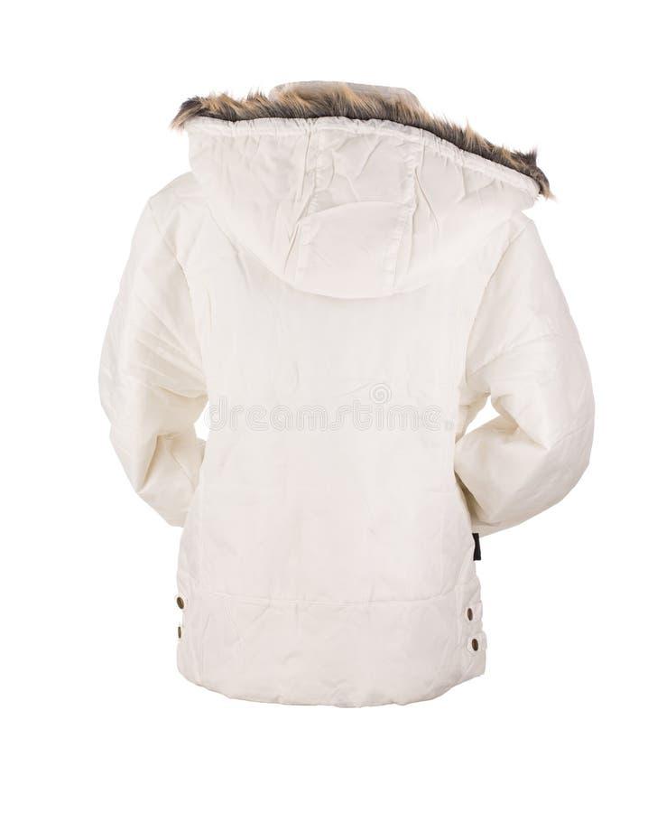 Άσπρο σακάκι στοκ εικόνες