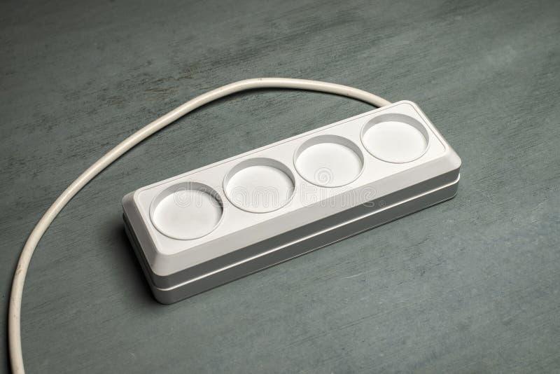 Άσπρο σκοινί επέκτασης δύναμης χωρίς τις τρύπες στοκ φωτογραφία με δικαίωμα ελεύθερης χρήσης
