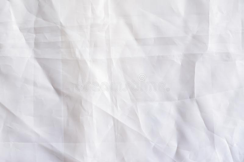 Άσπρο συνθετικό υπόβαθρο υφάσματος στοκ φωτογραφία με δικαίωμα ελεύθερης χρήσης