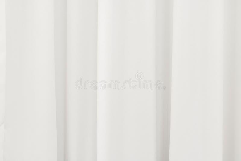 Άσπρο υπόβαθρο κουρτινών Περίληψη του σκηνικού drape στοκ εικόνες με δικαίωμα ελεύθερης χρήσης
