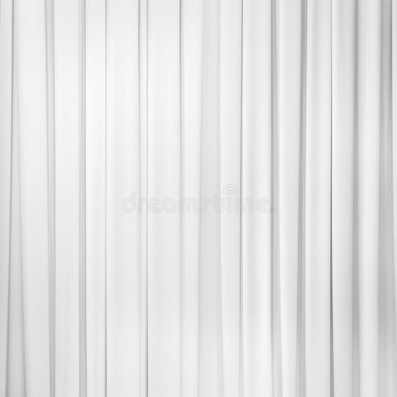 Άσπρο υπόβαθρο κουρτινών στοκ φωτογραφία με δικαίωμα ελεύθερης χρήσης