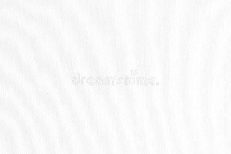 Άσπρο υπόβαθρο σύστασης υφάσματος καμβά στοκ φωτογραφίες με δικαίωμα ελεύθερης χρήσης