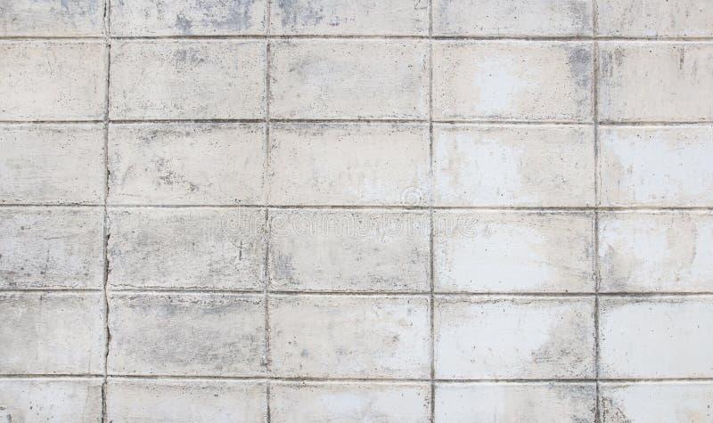 Άσπρο υπόβαθρο τουβλότοιχος grunge στοκ εικόνες