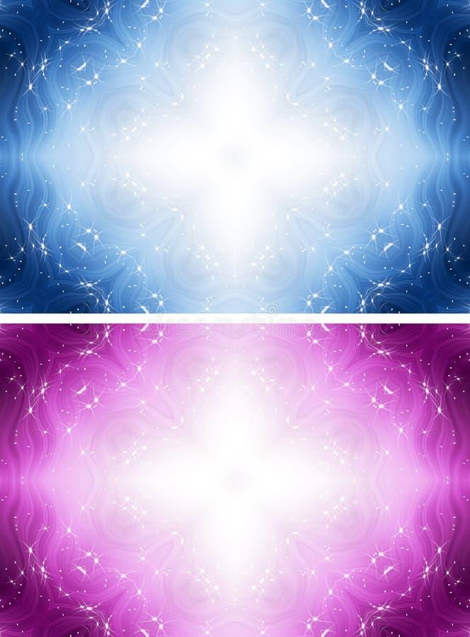 Άσπρο διαγώνιο υπόβαθρο φαντασίας με τα αστέρια διανυσματική απεικόνιση