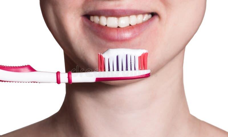 Άσπρο χαμόγελο στοκ φωτογραφία με δικαίωμα ελεύθερης χρήσης