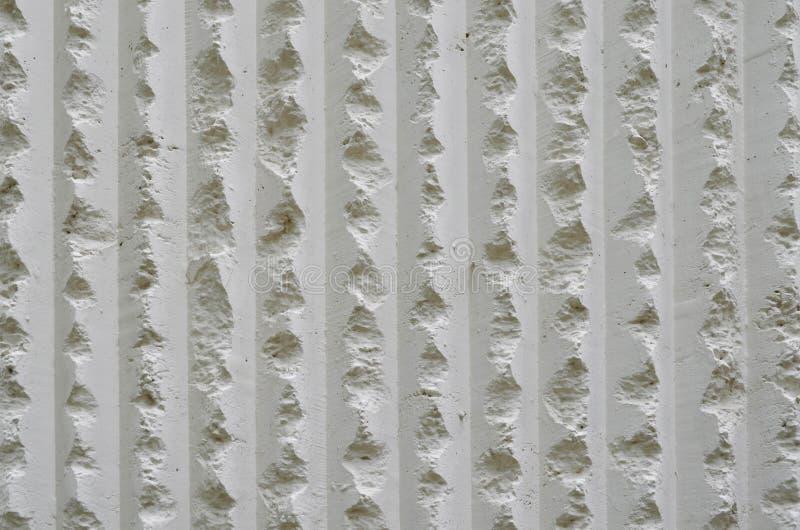 Άσπρο χονδροειδές υπόβαθρο τοίχων τσιμέντου στοκ εικόνες