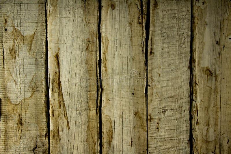 Άσπρο χρώμα τοίχων σύστασης ξύλινο με τους καφετιούς λεκέδες στοκ φωτογραφίες με δικαίωμα ελεύθερης χρήσης