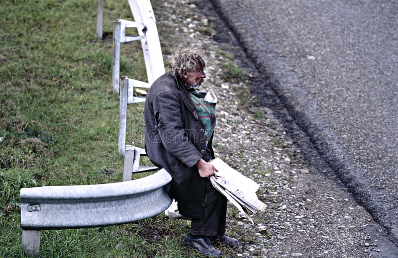 άστεγο άτομο στοκ φωτογραφίες με δικαίωμα ελεύθερης χρήσης